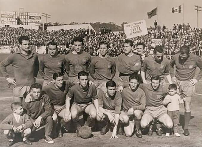 Pontevedra CF en la temporada 62-63