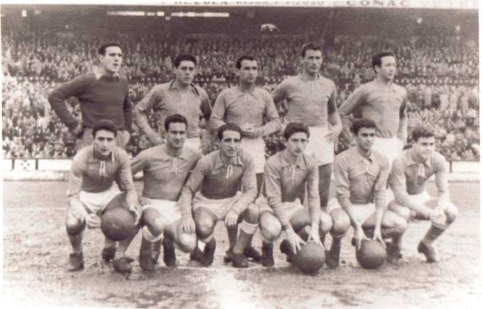 Racing de Ferrol en la década de los '60