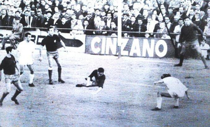Partido frente al Real Madrid en la temporada 67-68 - Odio Eterno Al Fútbol Moderno