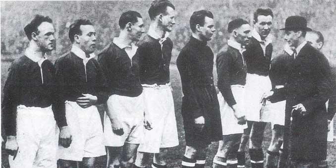 Aquel equipo escocés se ganó el apodo de Wembley Wizards