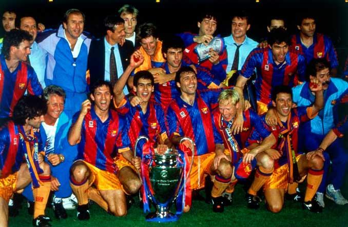El FC Barcelona se coronó campeón de Europa en 1992 en Wembley - Odio Eterno Al Fútbol Moderno