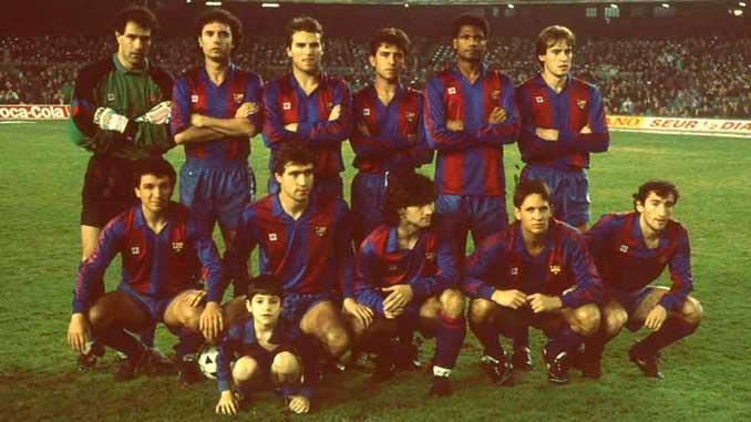 FC Barcelona en la temporada 88-89 - Odio Eterno Al Fútbol Moderno