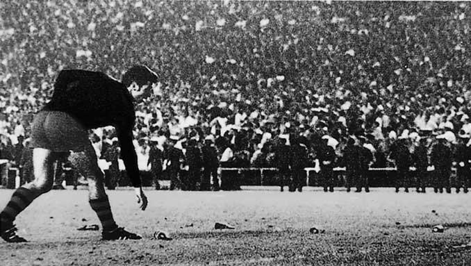 La final de las botellas. Uno de los Clásicos con más polémica - Odio Eterno Al Fútbol Moderno