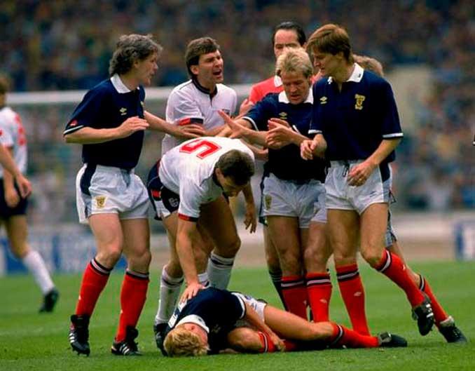 Los duelos de los Auld Enemies están repletos de tensión - Odio Eterno Al Fútbol Moderno