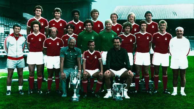 El Nottingham Forest hizo el único doblete de su historia en la 77-78 - Odio Eterno Al Fútbol Moderno