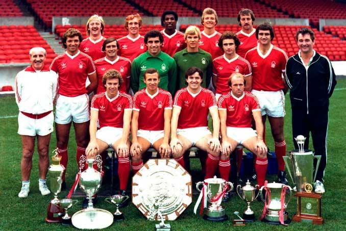 La plantilla del Nottingham Forest en la temporada 78-79 - Odio Eterno Al Fútbol Moderno