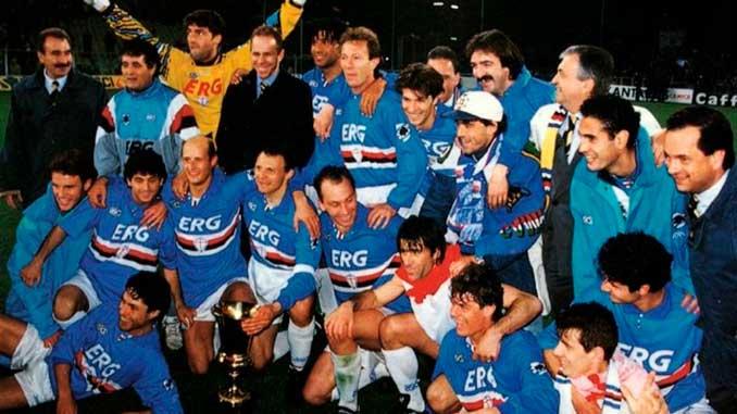 La Sampdoria era un lobo con piel de cordero. Un matagigantes - Odio Eterno Al Fútbol Moderno