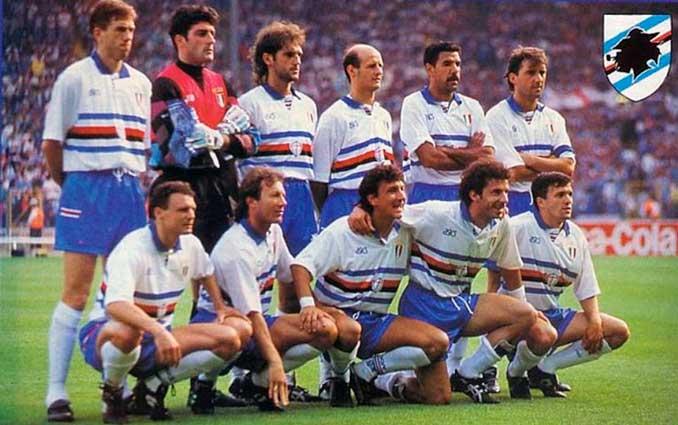 La Sampdoria vivía a comienzos de los '90 la mejor etapa de su historia - Odio Eterno Al Fútbol Moderno