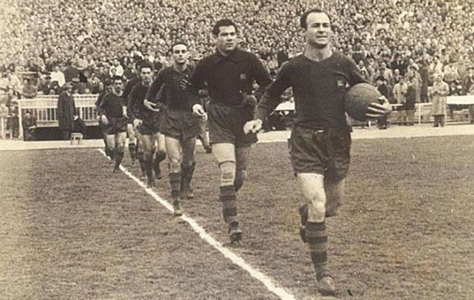 César Rodríguez un icono del FC Barcelona y de la Cultural Leonesa