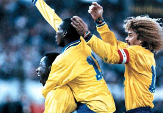 Colombia infligió la mayor derrota de la albiceleste en su territorio en 1993