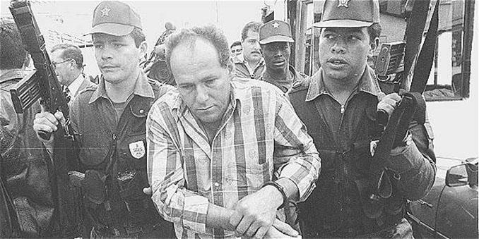 Humberto Muñoz detenido por el asesinato de Andrés Escobar