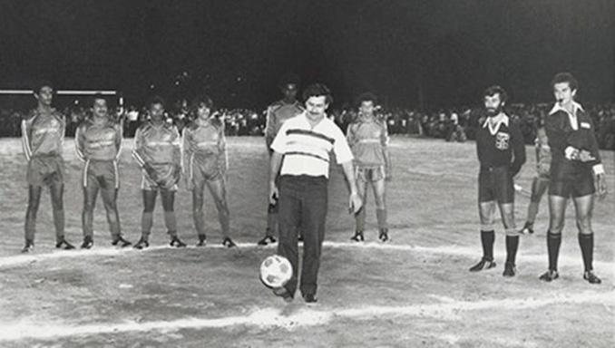 Pablo Escobar siempre estuvo muy interesado en el fútbol