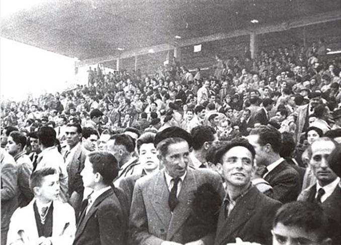 El Estadio de la Puentecilla se inauguró el 23 de octubre de 1955