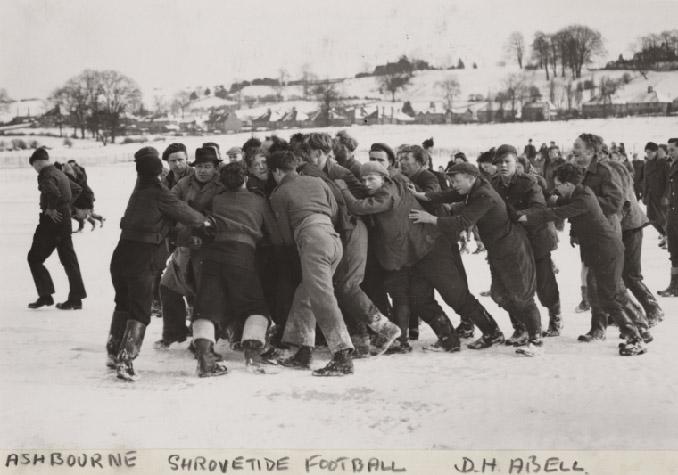 Este deporte se practica en Ashbourne desde tiempos inmemoriales