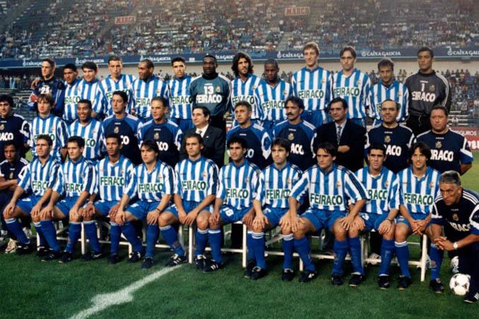 Plantilla del Deportivo de la Coruña temporada 97-98 - Odio Eterno Al Fútbol Moderno