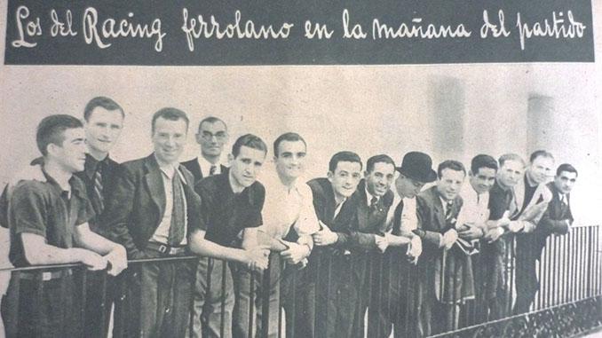 Racing de Ferrol en 1939