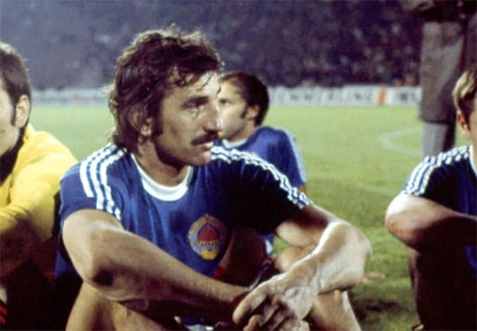 Josip Katalinski autor de único gol en aquella tarde