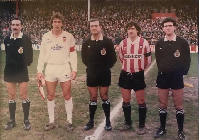 Valencia CF y CD Logroñés ascendieron a Primera en la temporada 86-87