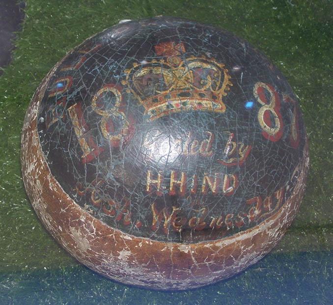 Así es la pelota del Royal Shrovetide Football