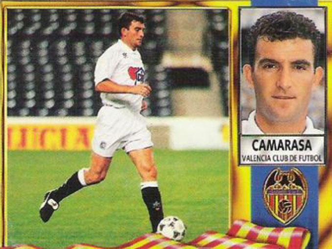 Cromo de Paco Camarasa - Odio Eterno Al Fútbol Moderno