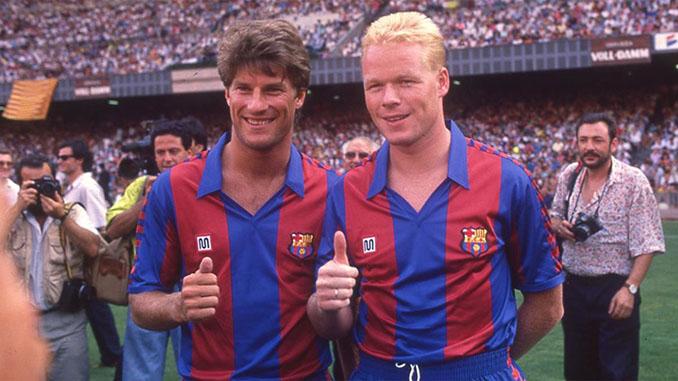 Laudrup y Koeman llegaron al FC Barcelona en 1989 - Odio Eterno Al Fútbol Moderno