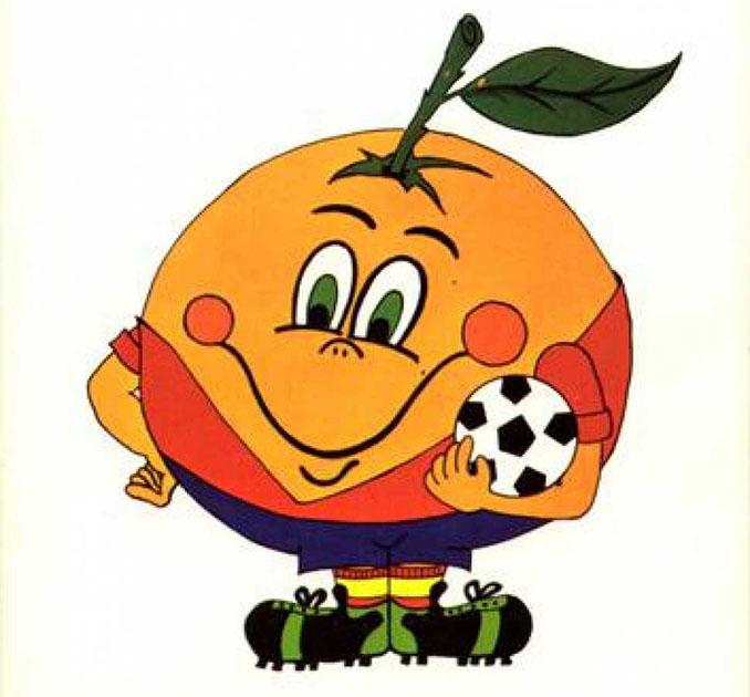 Naranjito se ha convertido en un auténtico icono para los españoles - Odio Eterno Al Fútbol Moderno