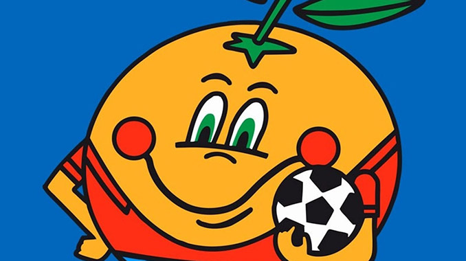 Naranjito fue la mascota del Mundial 1982 - Odio Eterno Al Fútbol Moderno