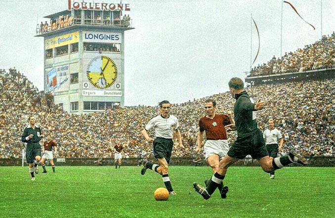 Final del Mundial 1954 bautizada como El Milagro de Berna - Odio Eterno Al Fútbol Moderno