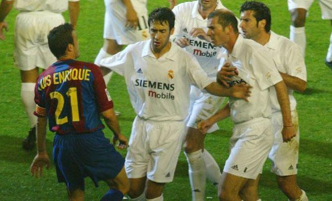 Luis Enrique siempre mostró su carácter en el campo - Odio Eterno Al Fútbol Moderno