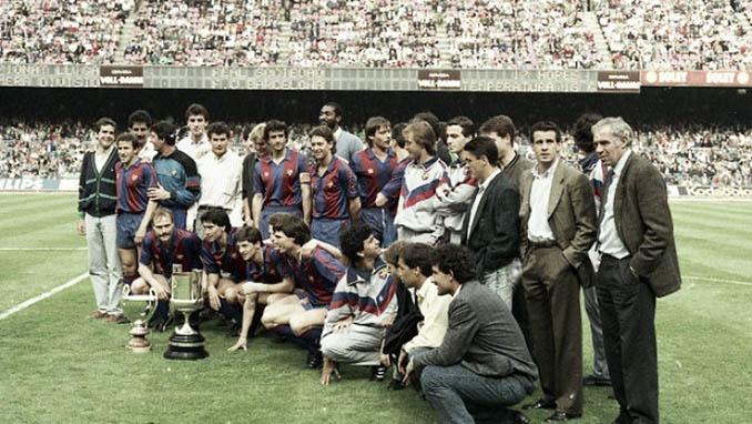 FC Barcelona con la Copa del Rey 87-88 - Odio Eterno Al Fútbol Moderno