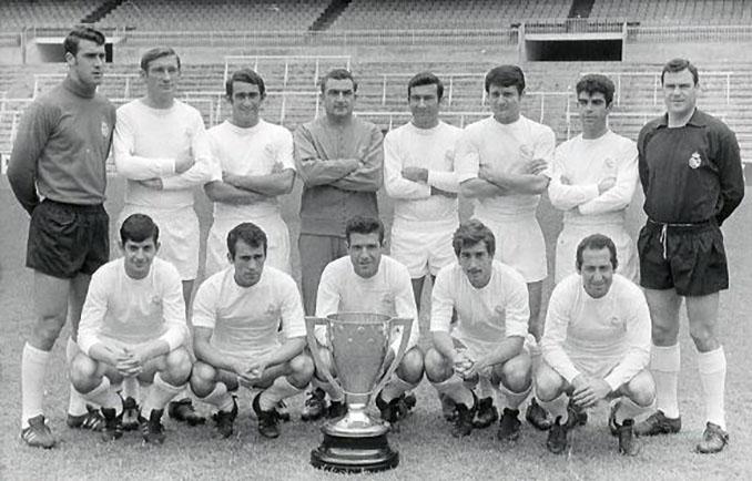 Real Madrid campeón de Liga 1967-1968 - Odio Eterno Al Fútbol Moderno
