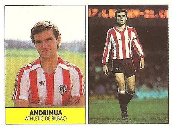 Cromo de Genar Andrinua - Odio Eterno Al Fútbol Moderno