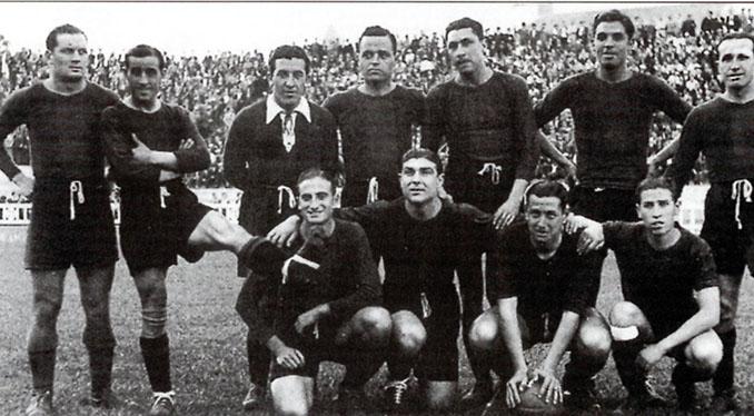 FC Barcelona en 1937 - Odio Eterno Al Fútbol Moderno