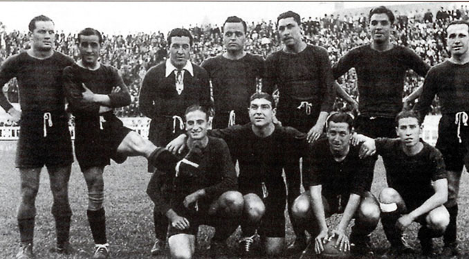 FC Barcelona en la Liga del Mediterráneo de 1937 - Odio Eterno Al Fútbol Moderno