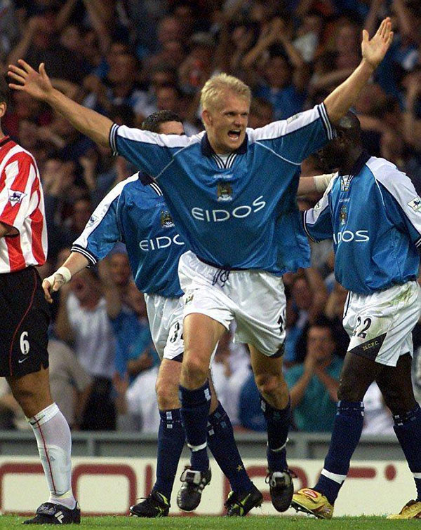 Haaland durante su etapa en el Manchester City - Odio Eterno Al Fútbol Moderno