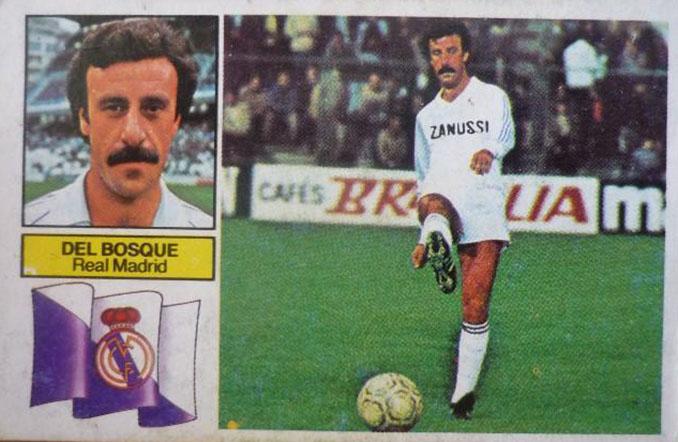 Cromo de Vicente del Bosque - Odio Eterno Al Fútbol Moderno