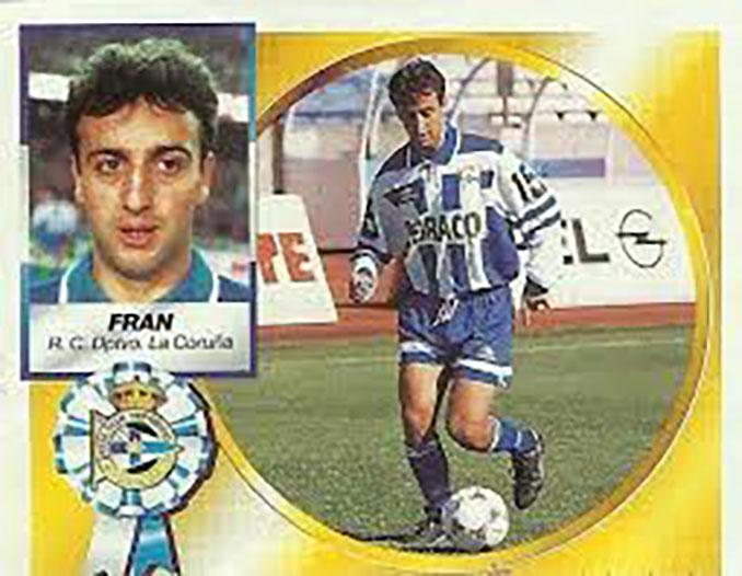 Cromo de Fran González - Odio Eterno Al Fútbol Moderno