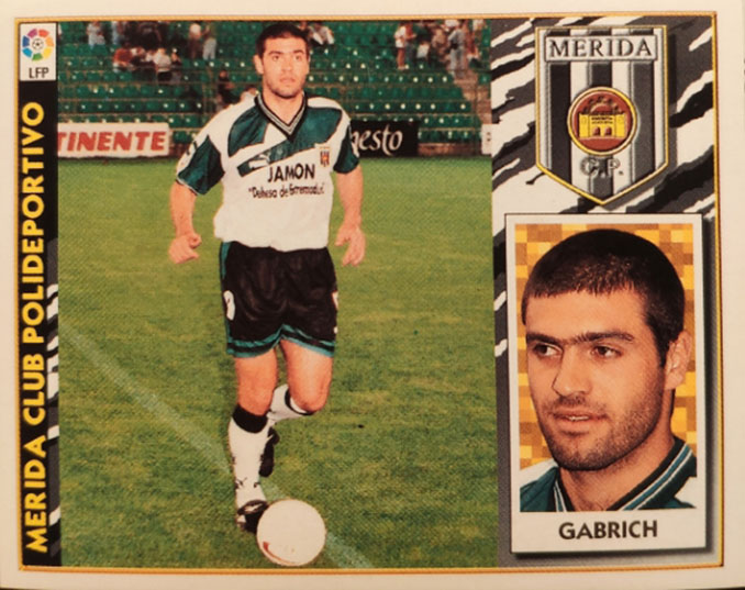 Cromo de Iván Gabrich - Odio Eterno Al Fútbol Moderno