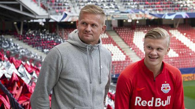 Alf-Inge Haaland junto a su hijo Erling Braut Haaland - Odio Eterno Al Fútbol Moderno