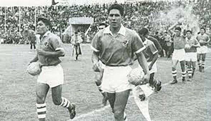 Selección boliviana en 1963 - Odio Eterno Al Fútbol Moderno