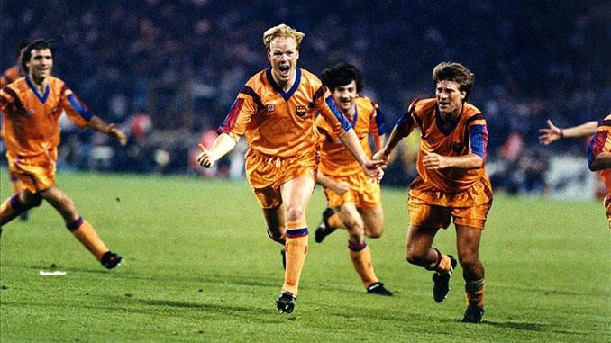 El gol de Koeman dio al FC Barcelona su primera Copa de Europa - Odio Eterno Al Fútbol Moderno
