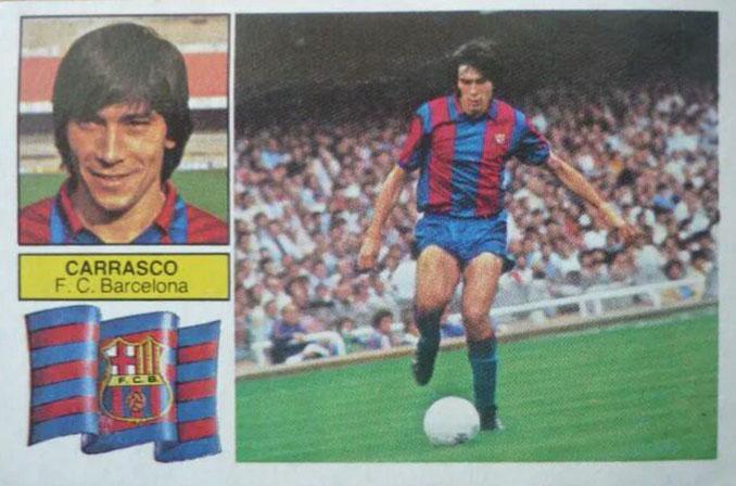 Cromo de Lobo Carrasco - Odio Eterno Al Fútbol Moderno
