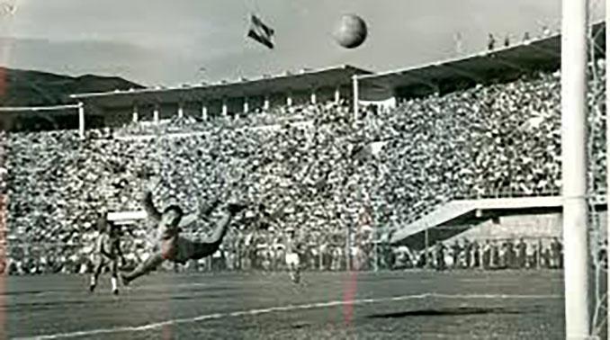 Gol de la selección boliviana frente a Brasil en 1963 - Odio Eterno Al Fútbol Moderno