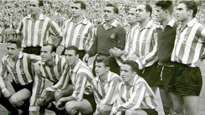 Este fue el 11 de Racing de Santander en el primer partido televisado en España - Odio Eterno Al Fútbol Moderno