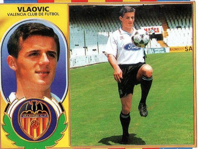 Cromo de Goran Vlaovic - Odio Eterno Al Fútbol Moderno