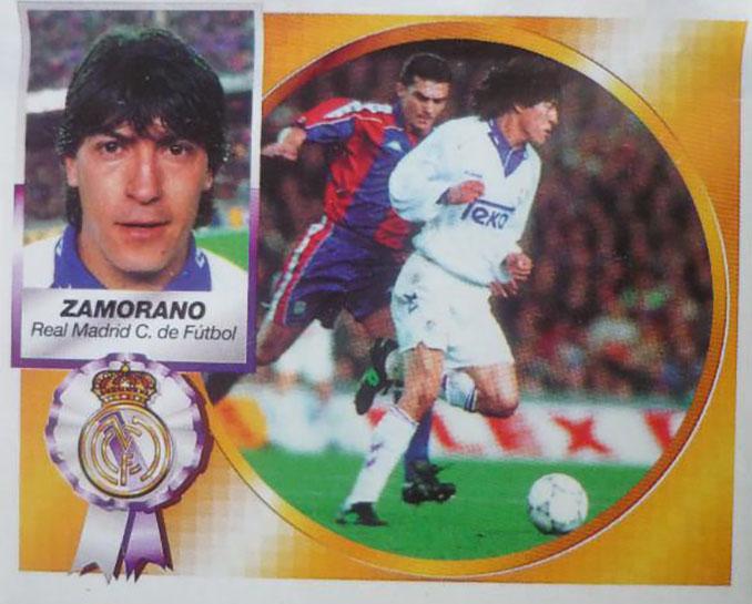 Cromo de Iván Zamorano - Odio Eterno Al Fútbol Moderno