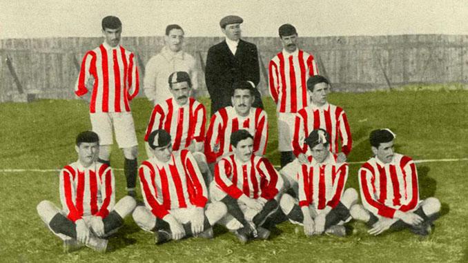 Jugadores del Athletic Club con la camiseta del Southampton FC - Odio Eterno Al Fútbol Moderno