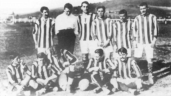 Athletic Club campeón del campeonato nacional de la discordia en 1911 - Odio Eterno Al Fútbol Moderno