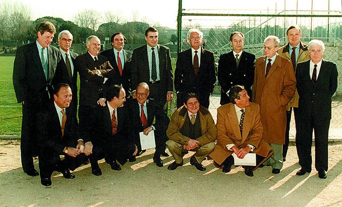 Directiva de Ramón Mendoza 1995 - Odio Eterno Al Fútbol Moderno