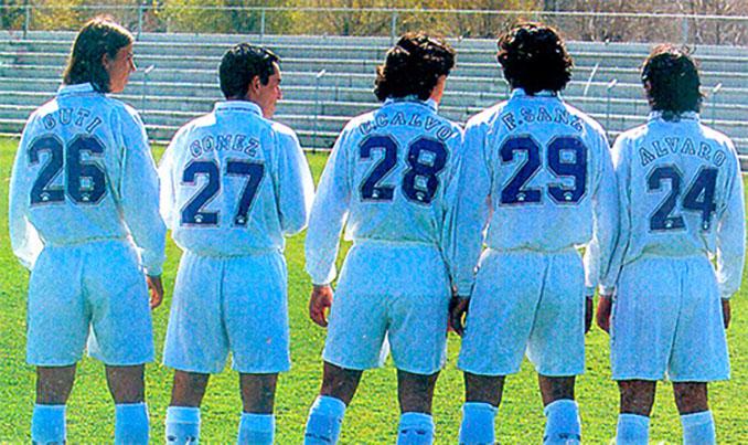 Los dorsales fijos hizo que los canteranos lucieran números inéditos hasta la fecha - Odio Eterno Al Fútbol Moderno